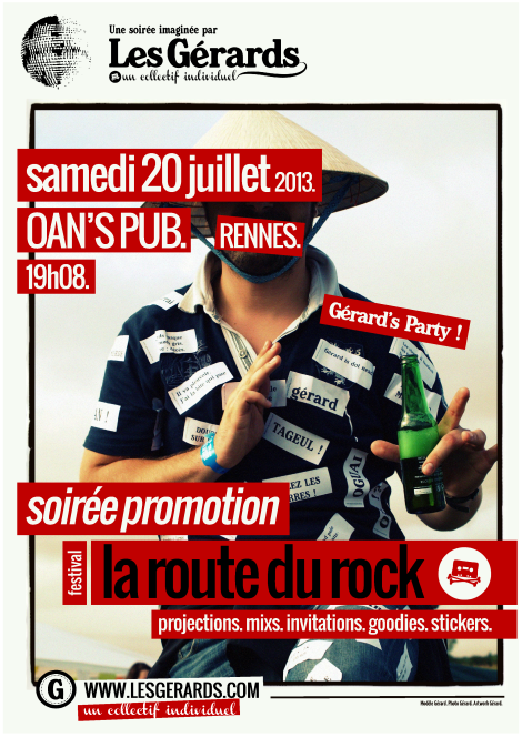 13.07.00 - SOIREE PROMO LA ROUTE DU ROCK