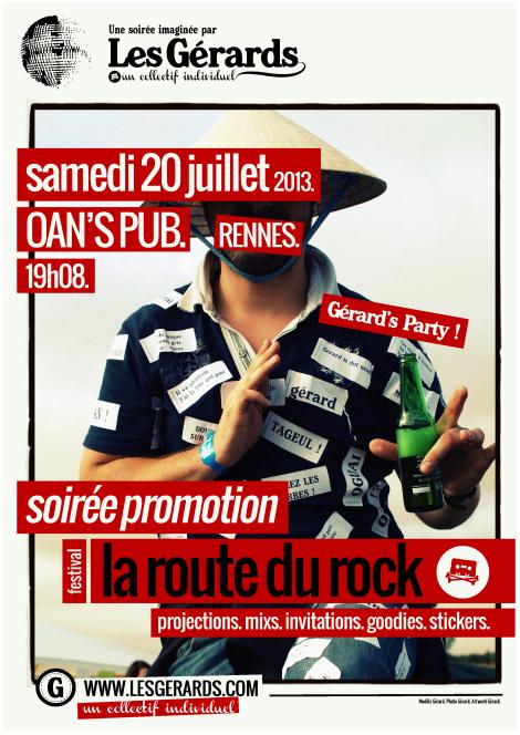 13.07.00 - SOIREE PROMO LA ROUTE DU ROCK