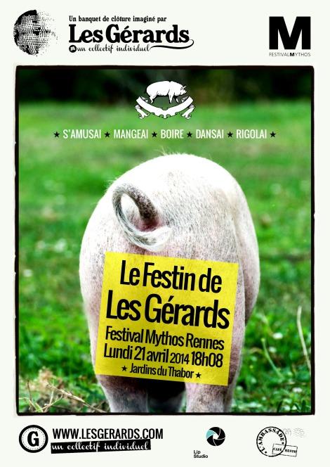 Le Festin de Les Gérards Mythos 2014