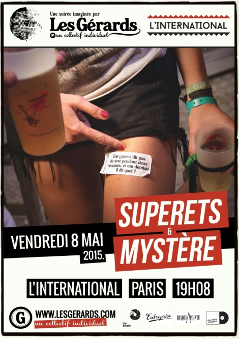 L'International Les Gérards Superets Mystère Paris 2015